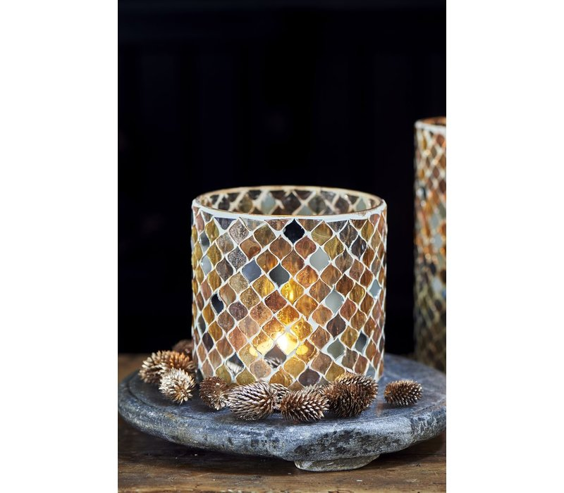Pretty Mosaic Votive