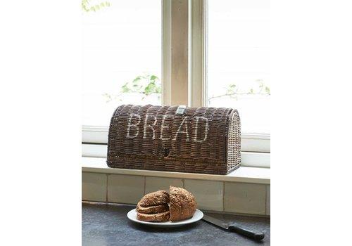 Homestore Rustic Rattan Bread Box