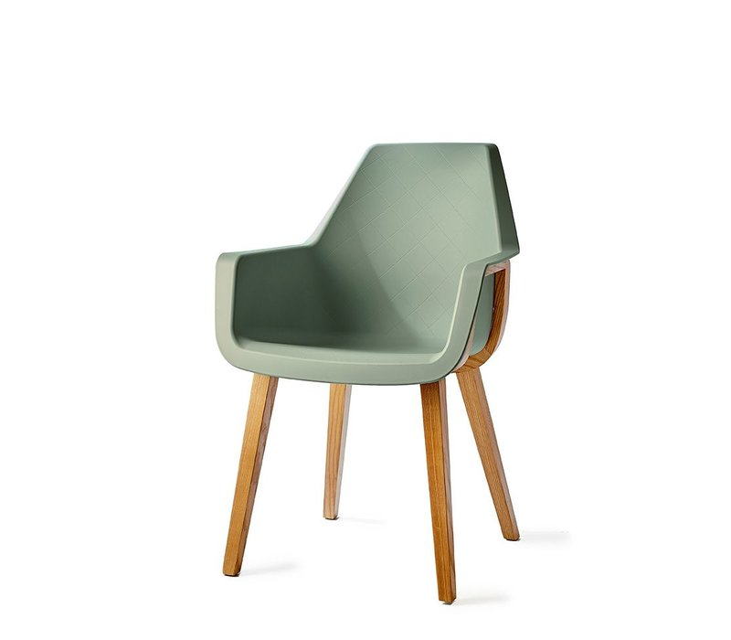 Amsterdam City Dining Armchair Green