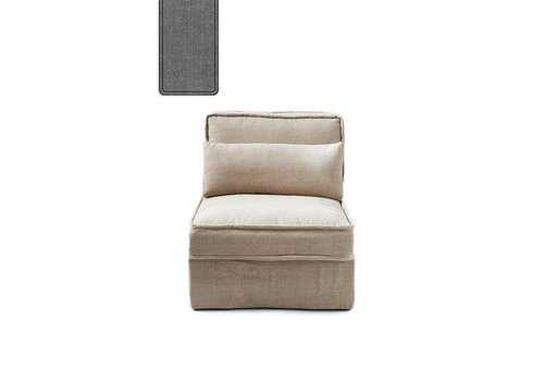 Homestore Metropolis Center Cotton Grey