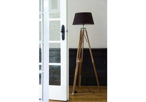 Homestore Classic Tripod Lamp teak L