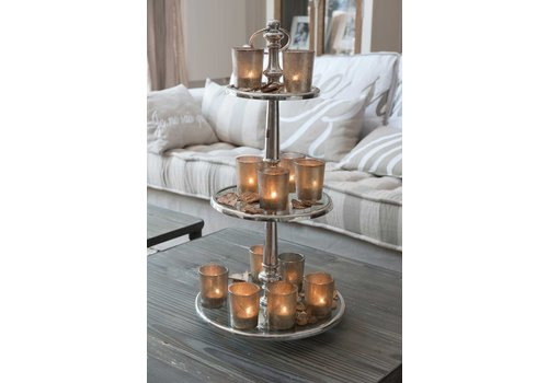 Homestore Berkeley Glass Cake Stand 3 Levels