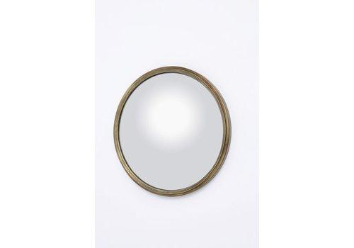 Homestore Antique Brass Convex Mirror Small