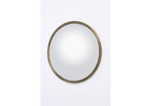Homestore Antique Brass Convex Mirror Large