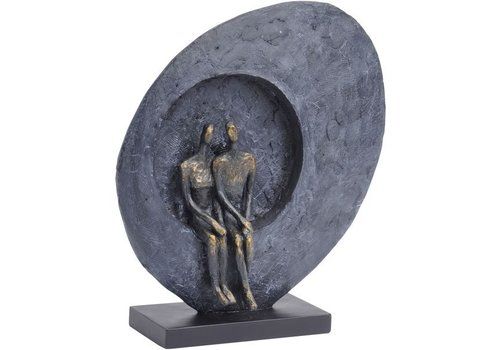 Homestore Abstract Couple Sculpture