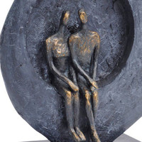 Abstract Couple Sculpture