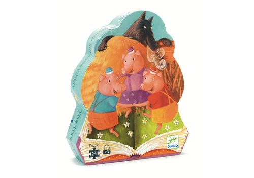 Homestore Silhouette puzzles - The 3 little pigs