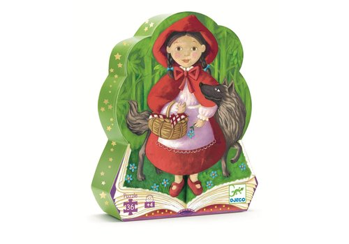 Homestore Silhouette puzzles - Little Red Riding Hood