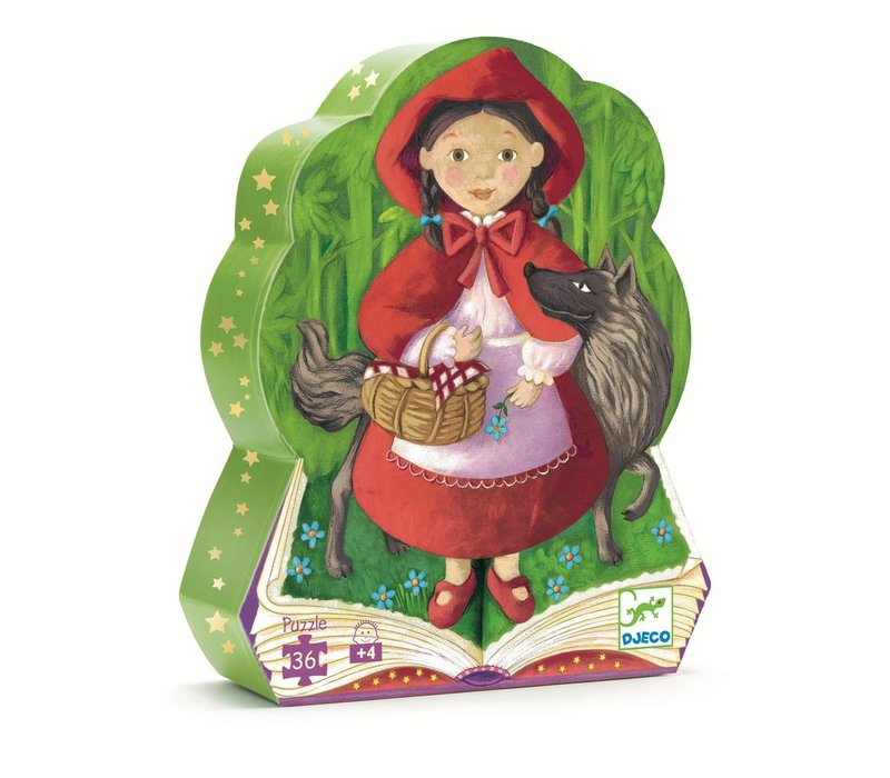 Silhouette puzzles - Little Red Riding Hood