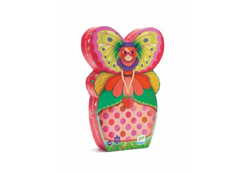 Homestore Silhouette puzzles - The butterfly lady