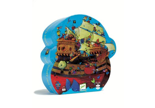 Homestore Silhouette puzzles - Barbarossa's boat