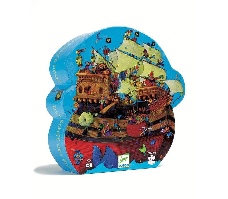 Silhouette puzzles - Barbarossa's boat