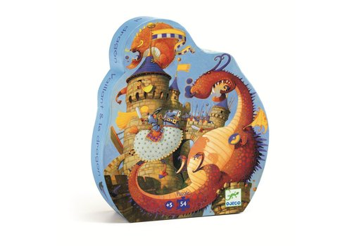 Homestore Silhouette puzzles - Vaillant and the dragon