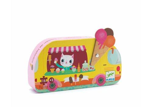 Homestore Silhouette puzzles - Ice cream truck