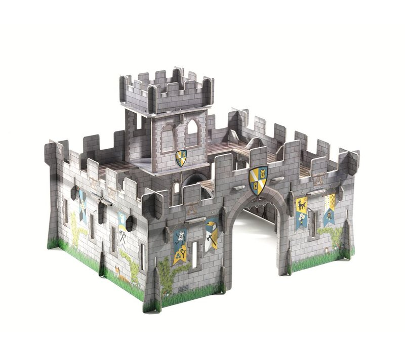 Pop to play - Medieval castle 3D