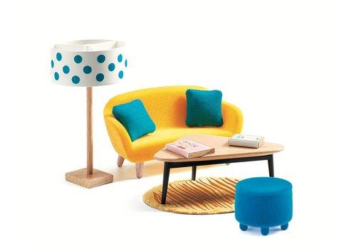 Homestore Doll's House - The Orange Living Room