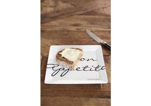 Homestore Buon Appetito Square Plate 18x18