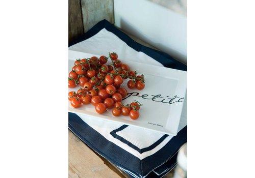 Homestore Buon Appetito Rect. Plate 40x25