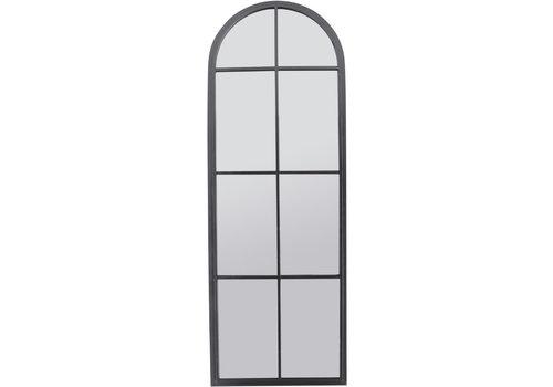 Homestore Tall Graphite Arch Iron Mirror