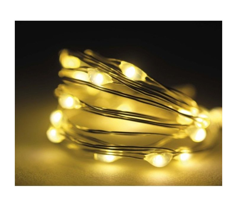 Micro LED twinkle lights - warm white - 240 lights