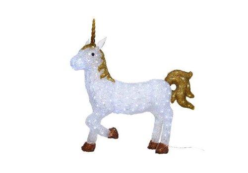 Christmas LED acrylic unicorn outdoor - 200 lights