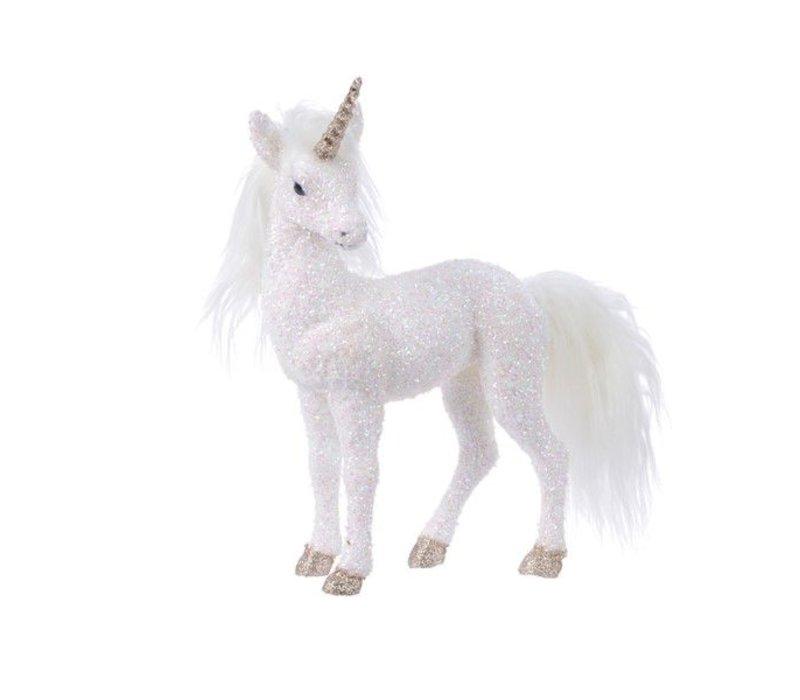 foam unicorn w glitters w horn - medium