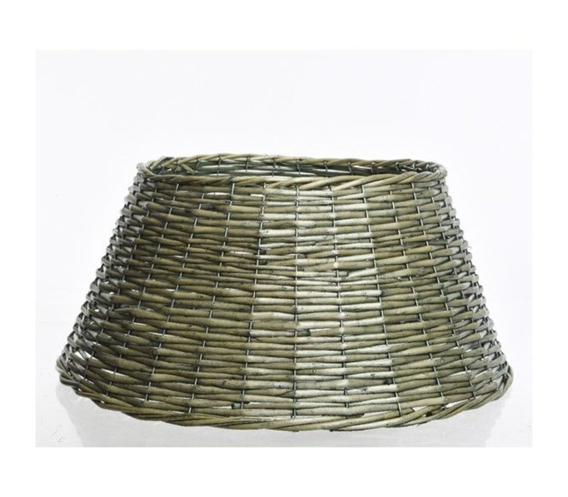 willow Christmas tree ring in green - 70cm