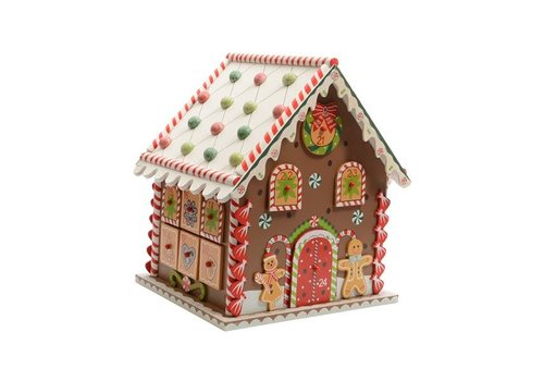 Christmas wooden house Advent calendar