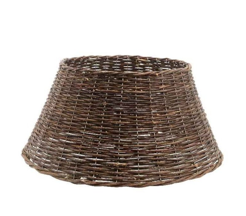 willow Christmas tree ring - brown - 70cm