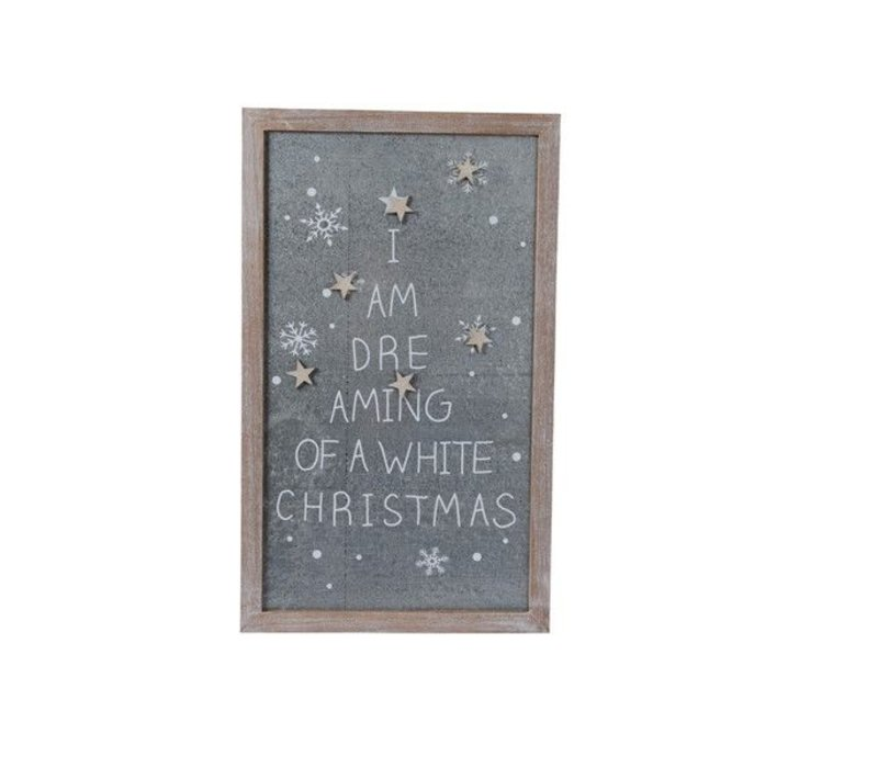 Magnet board w text & 6 magnets stars