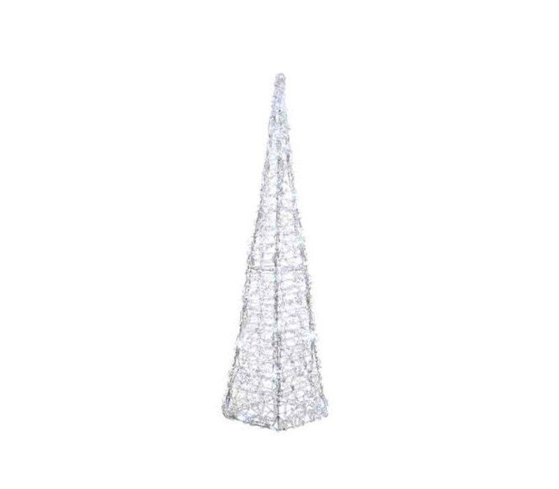 LED acrylic pyramid flash outdoors - 80 Lights