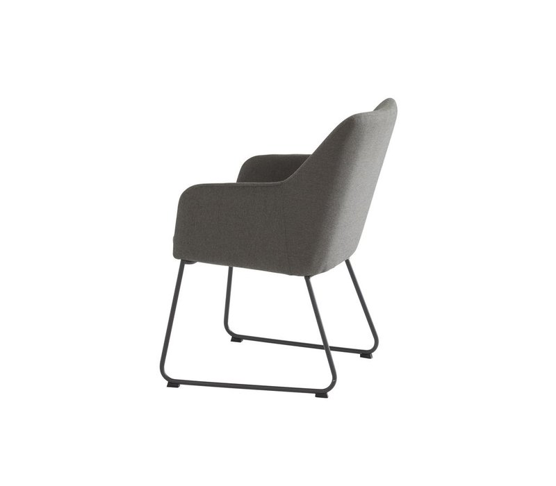 Amora dining chair in anthracite