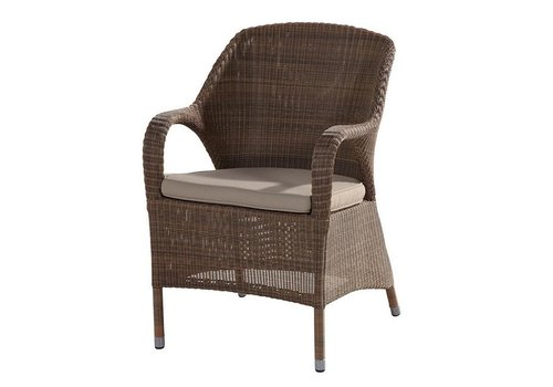Garden Centre Sussex dining chair in polyloom taupe