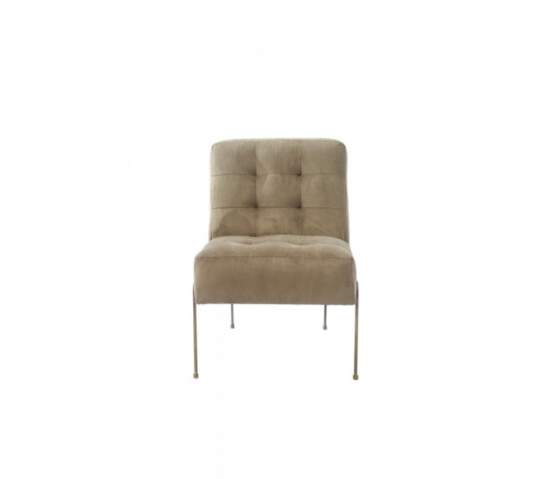 Soho Lobby Chair Velvet Seagrass