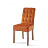 Homestore Cape Breton Dining Chair Velv Pumpk