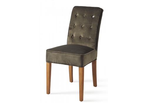 Homestore Cape Breton Dining Chair Velv Slate