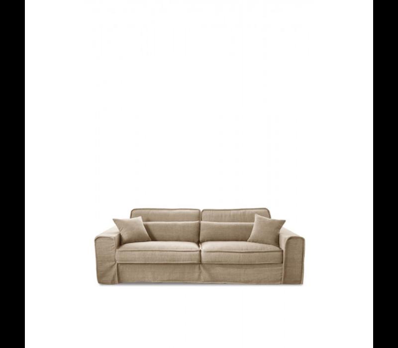Bond Street Sofa 3.5 S Fland Flax