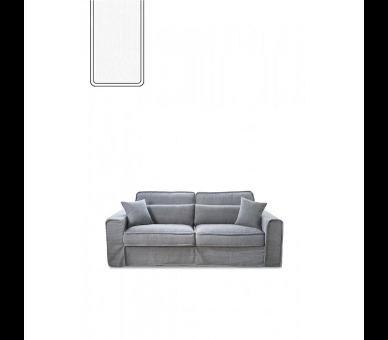 Bond Street Sofa 2.5S Alaskan White