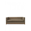 Homestore Central Park 3s Sofa cotton Mauve