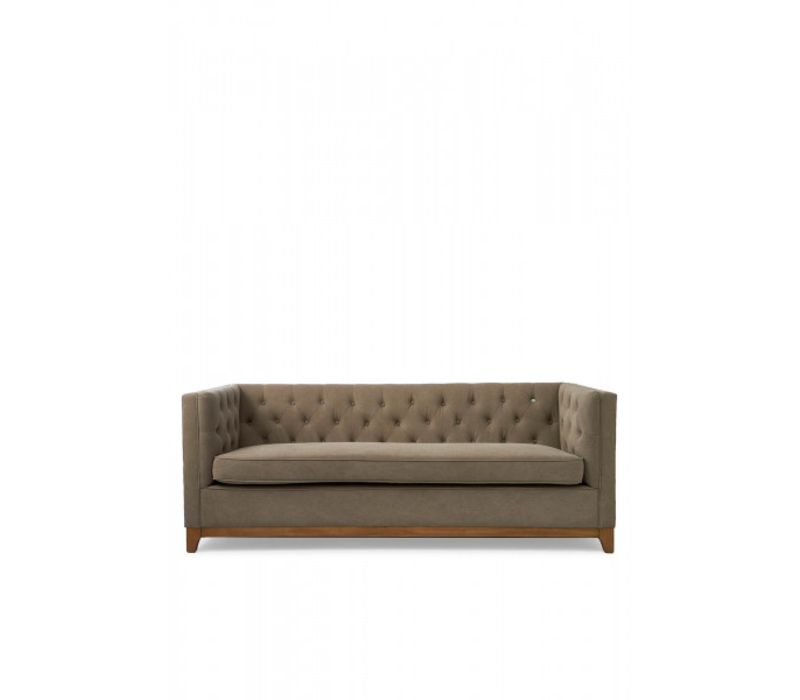 Central Park 3s Sofa cotton Mauve