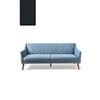 Homestore Contessa Sofa 3 Seater Velvet Mid.G