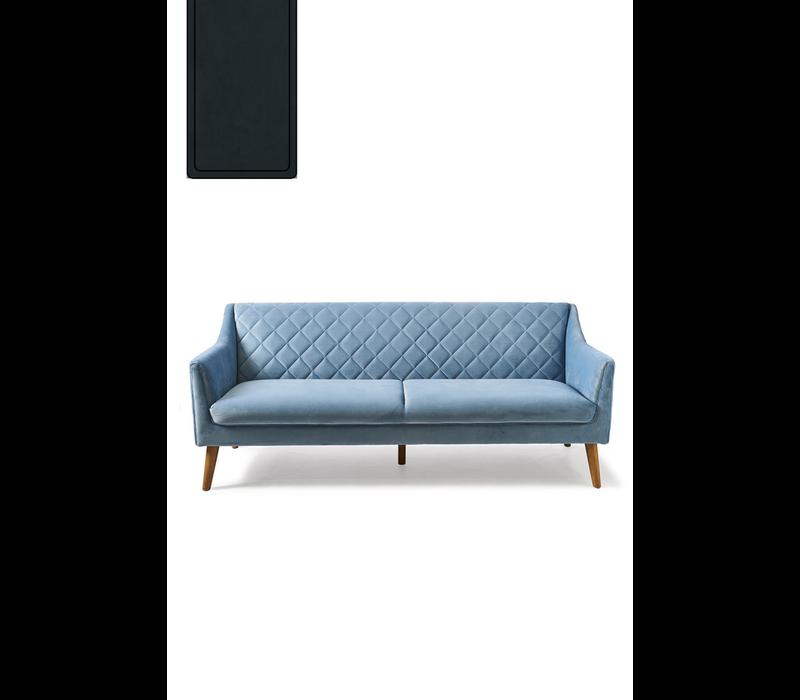 Contessa Sofa 3 Seater Velvet Mid.G