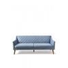 Homestore Contessa Sofa 3 Seater Velvet IceBl