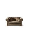 Homestore Crescent Avenue Sofa 2s Velv Olive