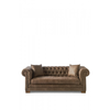 Homestore Crescent Avenue Sofa 3s Pel Coffe