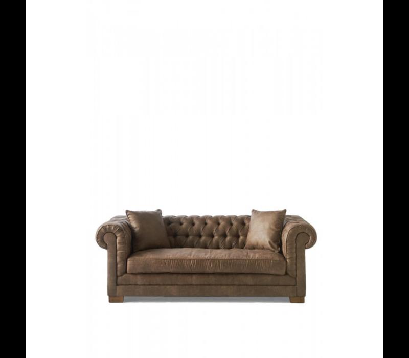 Crescent Avenue Sofa 3s Pel Coffe