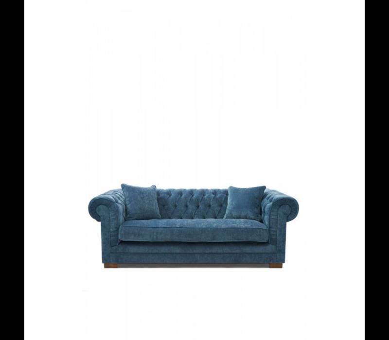 Crescent Avenue Sofa 3s Vel Indigo