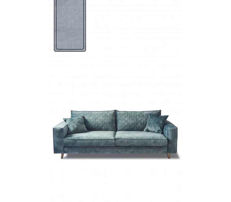Kendall Sofa 3,5s Cotton Ice Blue