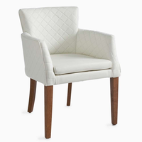 Waverly Dining Armchair pellini Whi