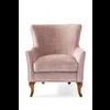 Homestore Cavendish Armchair Velvet Pink